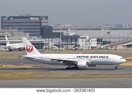 Japan Airlines Airplanes In Tokyo