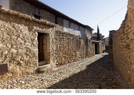 One Of The Gems Of The Maestrazgo, In The Province Of Teruel, Is The Mediaeval Town Of Mirambel, Who