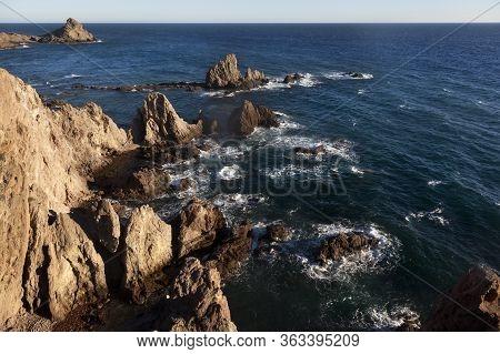 Cabo De Gata Natural Park. Almeria. South Of Spain