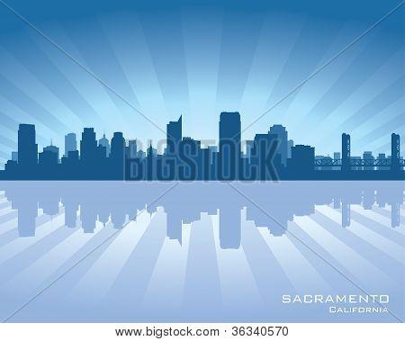 Sacramento, California Skyline