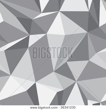 Diamond Seamless Pattern - Abstract Polygon Texture