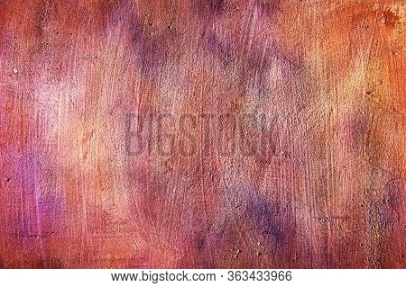 Wall Surface Abstract Grunge Decorative Stucco Background. Art Stylized Texture Banner. Vintage Plas