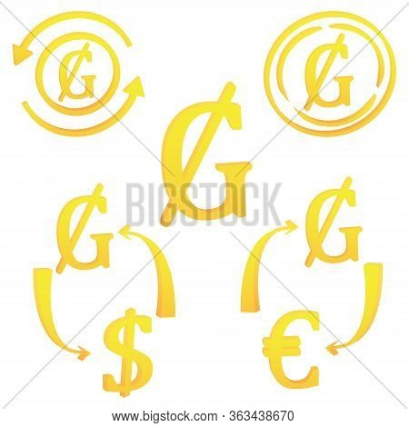 3d Paraguayan Guarani Currency Symbol Icon Of Paraguay Vector Illustration On A White Background