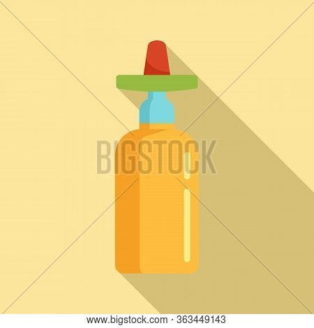 Mexican Tequila Icon. Flat Illustration Of Mexican Tequila Vector Icon For Web Design