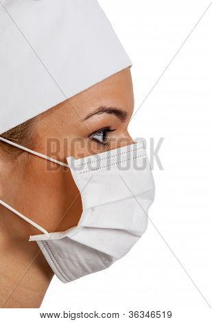 Young Female Surgeon