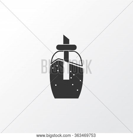 Sugar Icon Symbol. Premium Quality Isolated Sweetener Element In Trendy Style.
