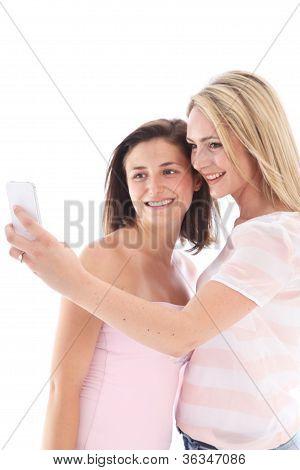 Women Posing For A Photograph