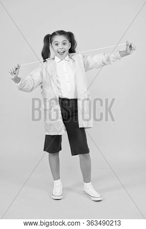Invest In Durable Kids Rainwear To Keep Children Out In Fresh Air. Waterproof Concept. Small Schoolg