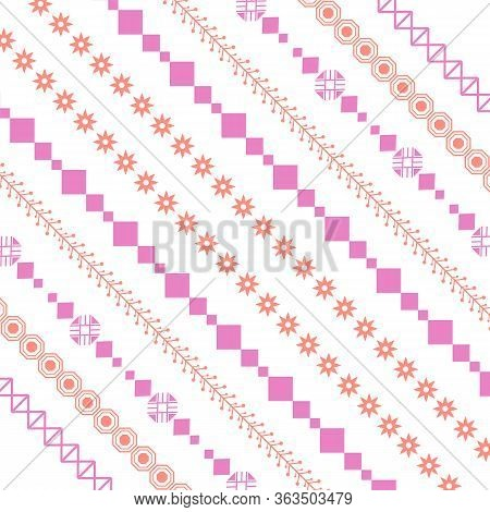 Simple Wall Paper Embroidery Design For Bedroom Decorative.