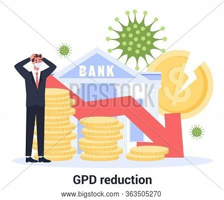 Global Gross Domestic Product Reduction Due To Covid-19