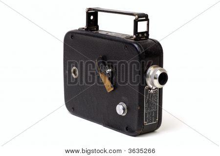 Old 8Mm Movie Camera 2