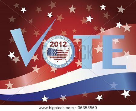 Vote Check Mark 2012 Presidential Election