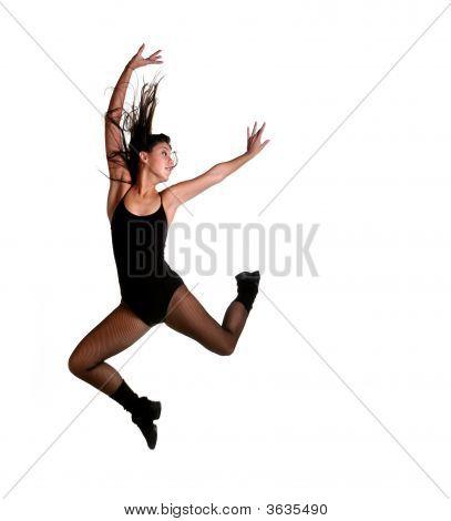 Beautiful Jazz Dancer