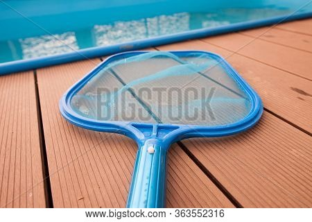 Hand Sieves, Net For Grime, Disrt By The Pool, Maintenance, Swimming Pool