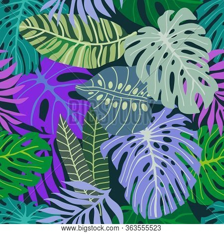 Aloha Textile Collection. Template For Textile Design, Cards, Covers.