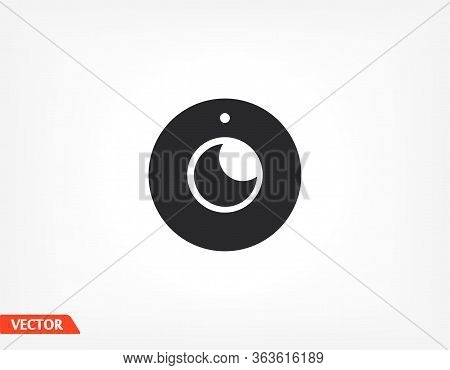 Webcam Icon In Trendy Flat Style. Webcam Icon. Webcam Symbol For Your Website Design, Webcam Smartph
