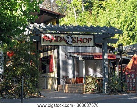 San Diego, California, Usa  - November 07: Panda Shop; A Gift Shop Located In The San Diego Zoo 2012