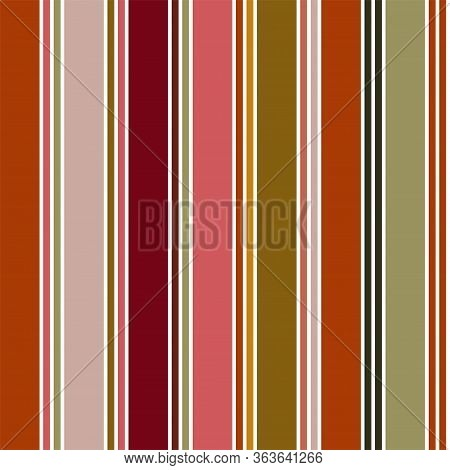 Vertical Stripes Seamless Pattern. Male, Female, Childrens Modern Fashion Print. Autumn Winter Busin