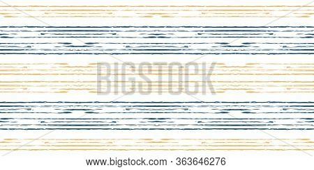 Beige Color Stripe Vector Seamless Pattern. Paper Line Wallpaper. Brown Stripe Hand Design. Line Geo