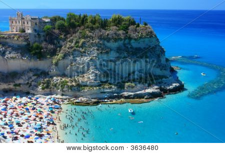 Tropea Peninsola With Beach