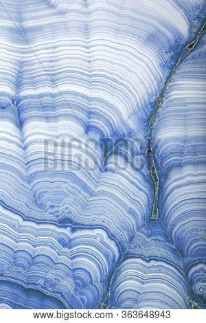 blue malachite stone texture macro