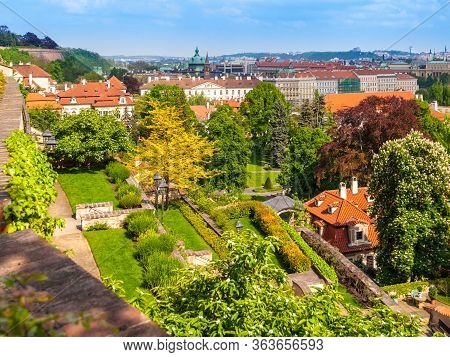 Terraced Gardens Of Prague Castle, Praha, Czech Republic