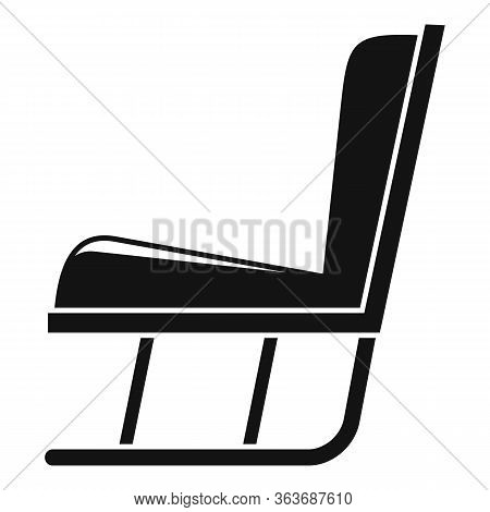 Garden Soft Rocking Chair Icon. Simple Illustration Of Garden Soft Rocking Chair Vector Icon For Web