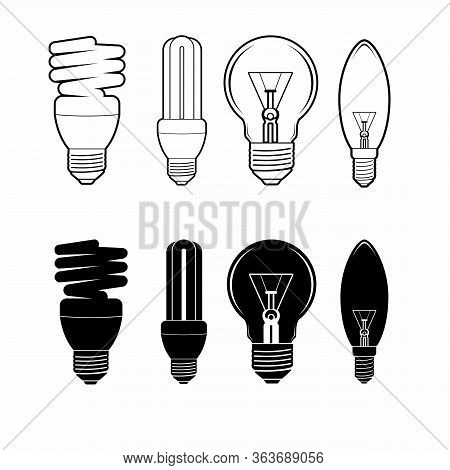 Lamp Icon Isolated On White Background From Photography Collection. Lamp Icon Trendy And Modern Lamp