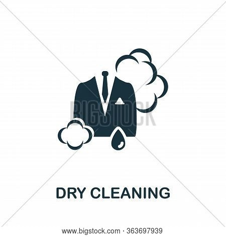 Dry Cleaning Icon. Simple Illustration From Laundry Collection. Creative Dry Cleaning Icon For Web D