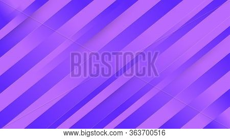 Abstract Blue And Purple Stripes Background With Paper Cutout 3d Style With Paper Cutout 3d Style Fo