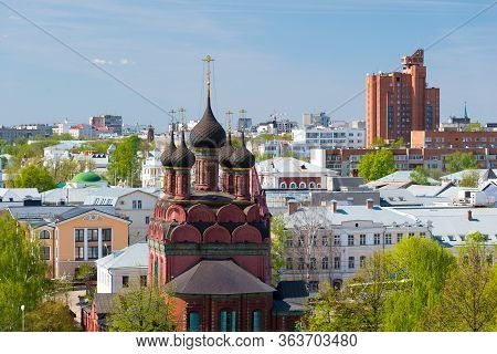 Epiphany Church In Yaroslavl. Golden Ring Of Russia