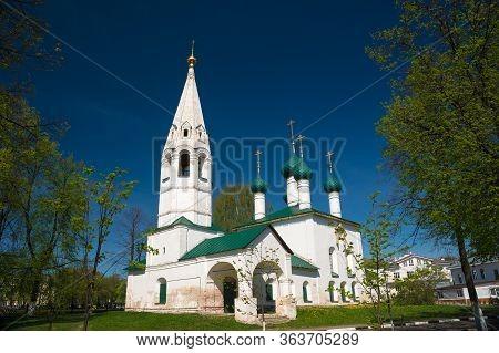 The Nikola Rubleny Church In Yaroslavl. Golden Ring Of Russia