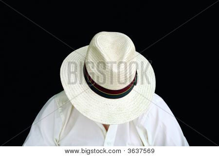 Sleeping Man With The Hat