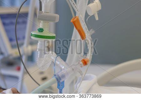 Respiratory Connection Tube, Hme Filter, Carbon Dioxide Sensor And Suction Catheter, Patient Connect