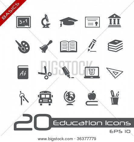 Education Icons // Basics