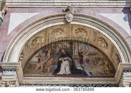 Exterior Fresco Of Basilica Of Santa Maria Novella, Florence