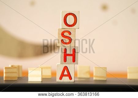 Osha - Occupational Safety And Health Administration Word Concept