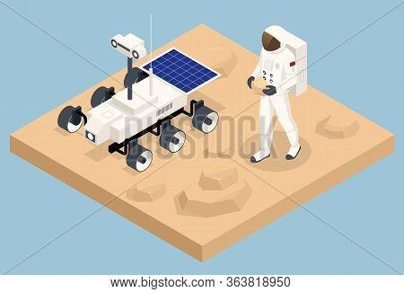 Isometric Mars Colonization, Biological Terraforming, Paraterraforming, Adapting Humans On Mars. Exp
