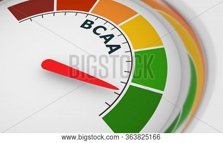 Gradient Scale. Bcaa Level Measuring Device. Sign Tachometer, Speedometer, Indicators. Infographic G