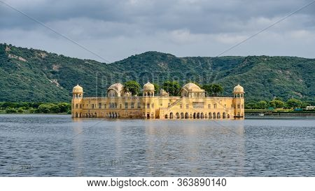 Jal Mahal (water Palace) In The Man Sagar Lake In Jaipur, Rajasthan, India