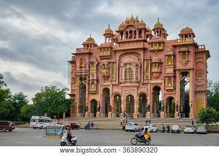 Patrika Gate In Jaipur, Rajasthan, India