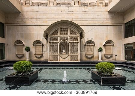 Jaipur, Rajasthan / India - September 28, 2019: The Lalit Jaipur, A 5-star Luxury Hotel In Jaipur, R