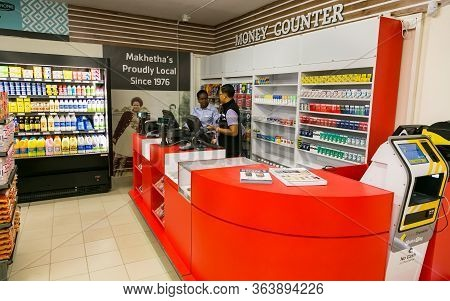 Service Counter At Checkout At Local Pick N Pay Grocery Store