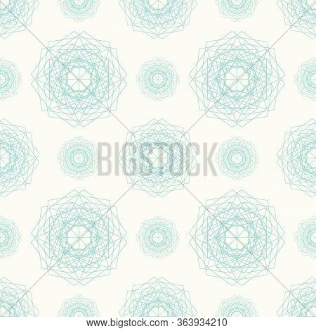 Geometric Kaleidoscope Abstract Floral. Great For Home Decor, Wrapping, Scrapbooking, Wallpaper, Gif