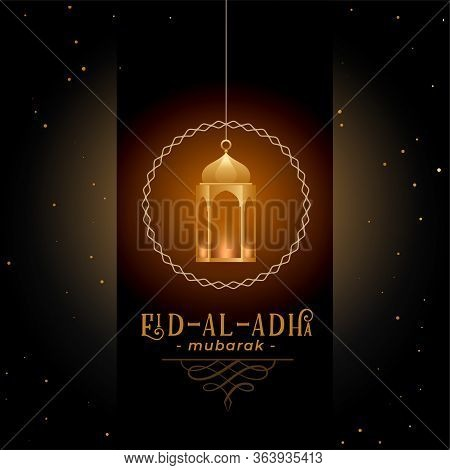 Greeting Design For Eid Al Adha Festival Design Illustration