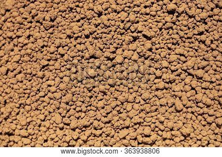 granular or granulated soil used for agriculture and gardening, which provides good drainage and aeration .
