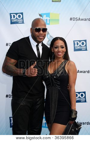 Los Angeles - AUG 19:  Flo Rida arrives at the 2012 Do Something Awards at Barker Hanger on August 19, 2012 in Santa Monica, CA