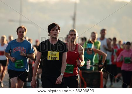 BRISBANE AUSTRALIA - SEPTEMBER 02 : Unidentified runners participating in the