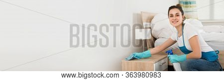Home Bedroom Cleaning Service And Housekeeping Maid