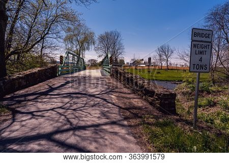 Rural Iron Bridge